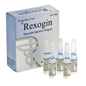 Order Rexogin amp. (Stanozolol Suspension) 10 amps  (1 ml (50mg/ml)) with delivery in USA